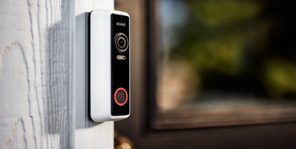 Wireless Video Doorbell Security Camera | Vivint