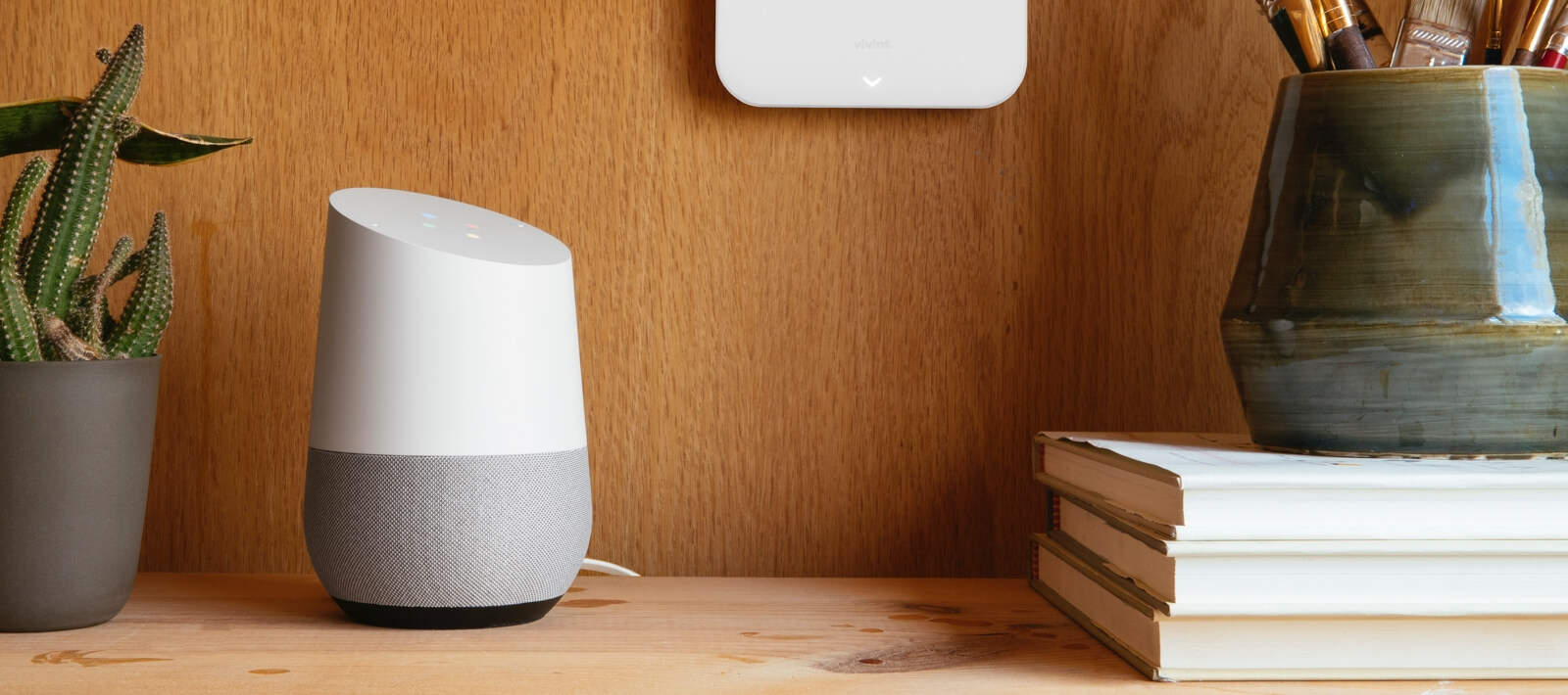 Vivint and Google Home