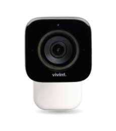 Vivint outdoor camera on white background